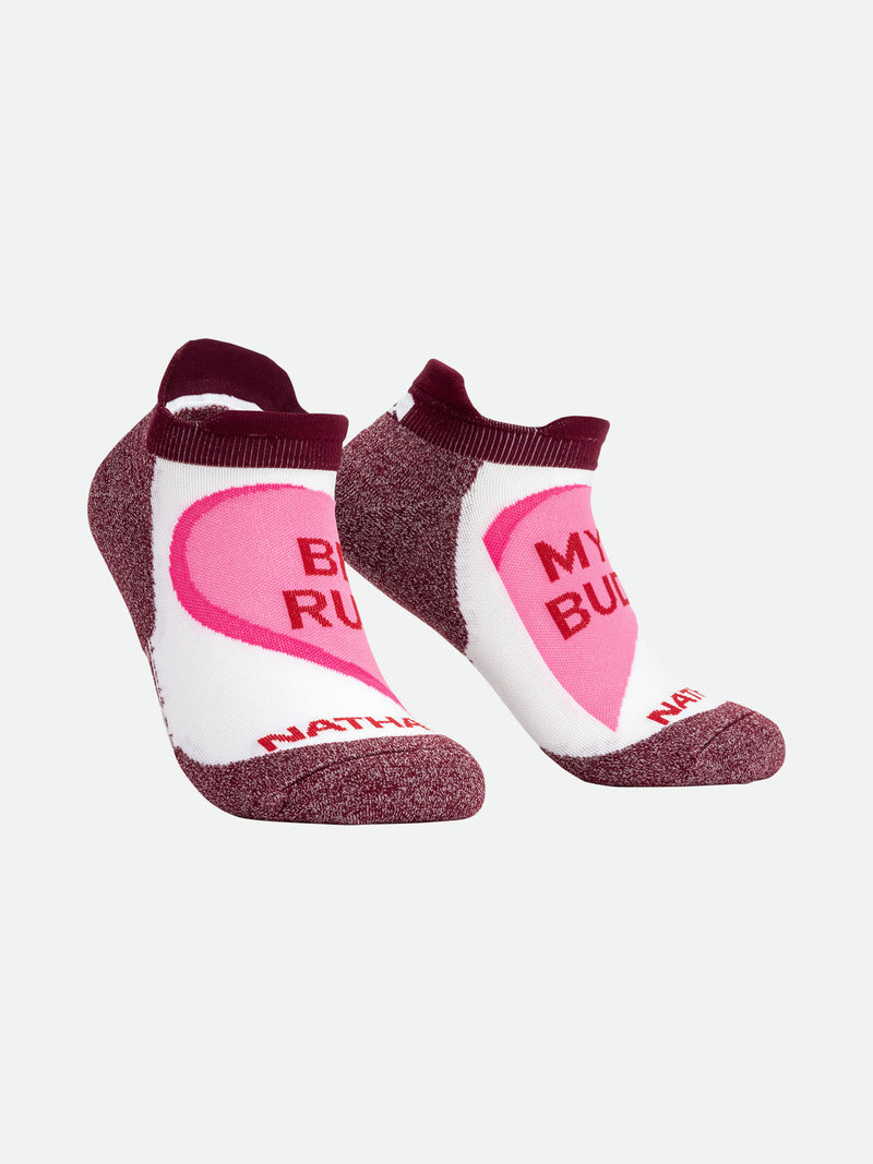 Be My Run Bud Low-Cut Running Socks