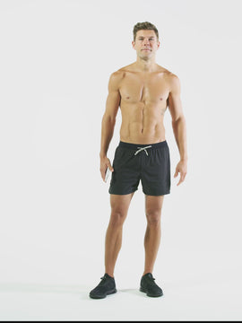 Nathan Sports Men's Front Runner Shorts – Black - Product Video