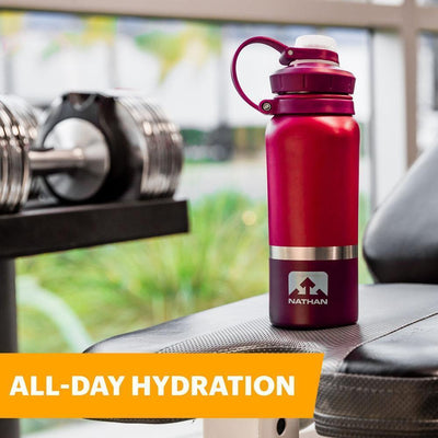 HammerHead 18oz Steel Insulated Bottle Hydration Nathan