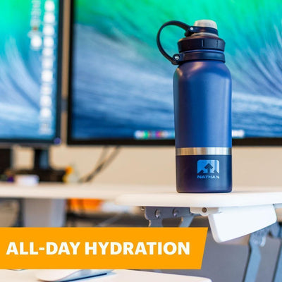 HammerHead 24oz Steel Insulated Bottle Hydration Nathan