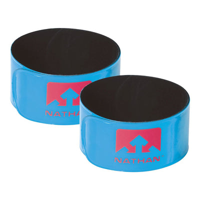 Reflex Reflective Snap Bands 2-Pack Safety Nathan Atomic Blue