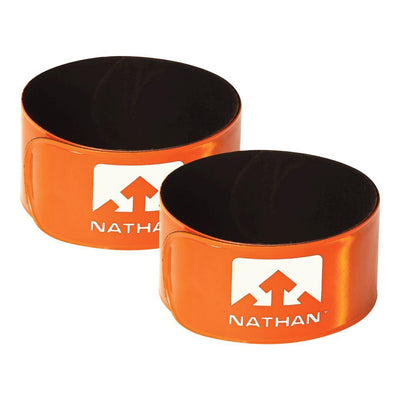 Reflex Reflective Snap Bands 2-Pack Safety Nathan Hi-Viz Orange