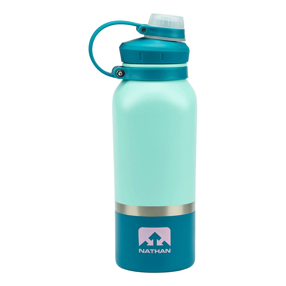 HammerHead 24oz Steel Insulated Bottle Hydration Nathan Beach Glass/Biscay Bay/Pink Lady