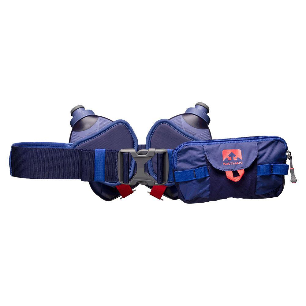 Switchblade 24oz Hydration Belt Hydration Nathan Astral Aura/Deep Ultramarine/Hibiscus OSFM
