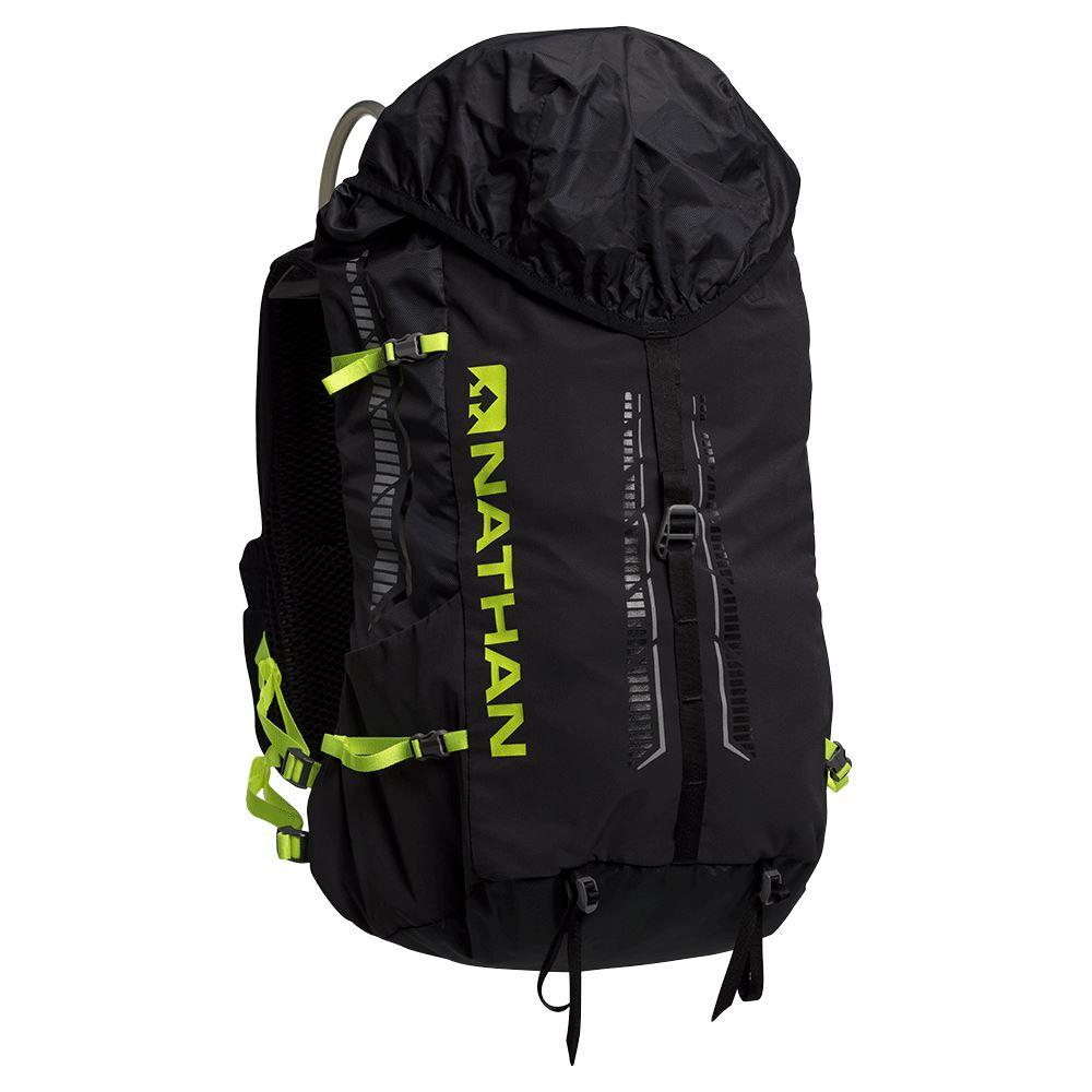 Journey 25 Liter FastPack Hydration Nathan Black/Safety Yellow XS