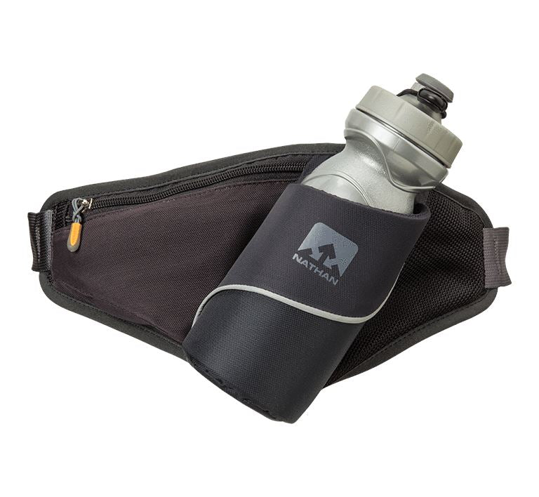 Triangle Hydration Waist Pak Hydration Nathan Black OSFM
