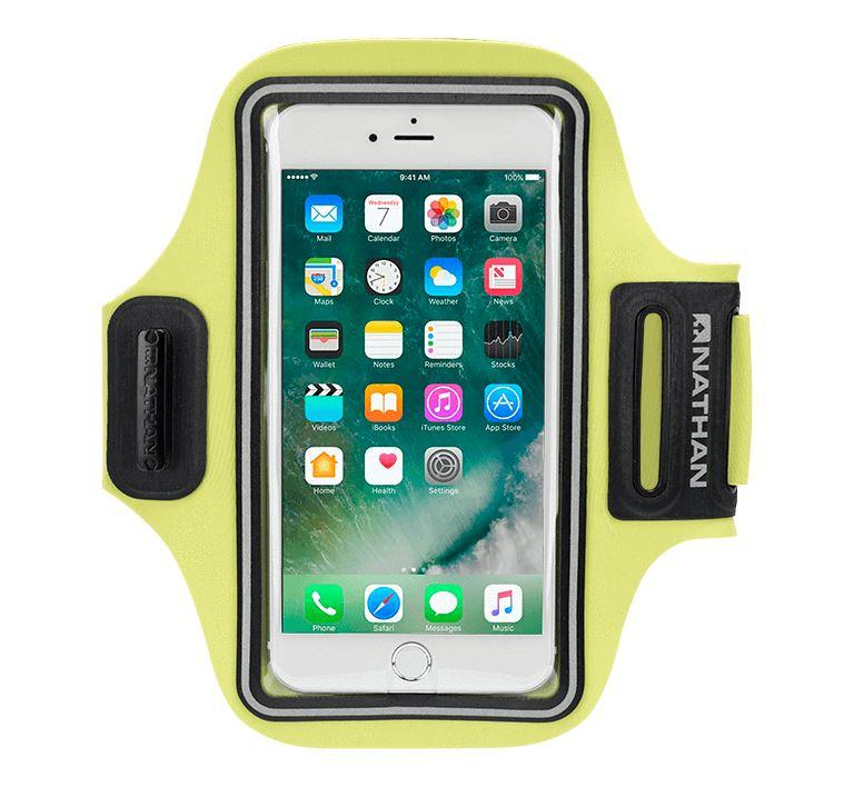 StrideSport Smartphone Carrier Gear Nathan Safety Yellow OSFM