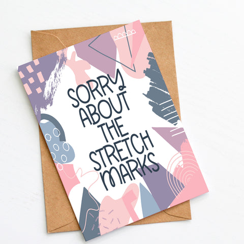 Sorry Mom - Splendid Greetings - Funny Greeting Cards