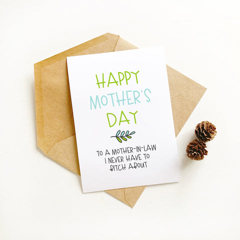 Mother-in-Law - Splendid Greetings - Funny Greeting Cards