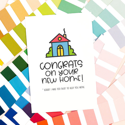 Congrats on Your New Home! - Splendid Greetings - Funny Greeting Cards