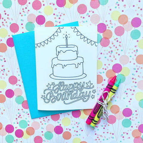Happy Birthday DIY Mini Card - Splendid Greetings - Funny Greeting Cards