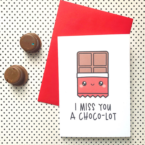 A Choco-Lot - Splendid Greetings - Funny Greeting Cards