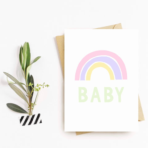 Rainbow Baby - Splendid Greetings - Funny Greeting Cards