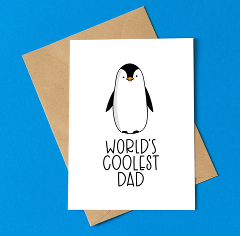 World's Coolest Dad - Splendid Greetings - Funny Greeting Cards