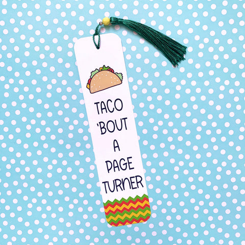 Taco 'Bout a Page Turner - Splendid Greetings - Funny Greeting Cards