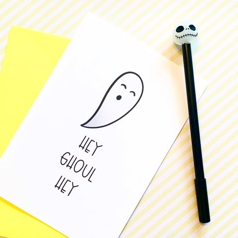 Hey Ghoul Hey - Splendid Greetings - Funny Greeting Cards