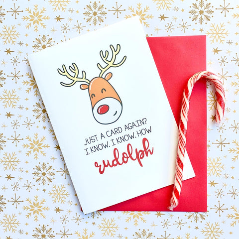 How Rudolph! - Splendid Greetings - Funny Greeting Cards