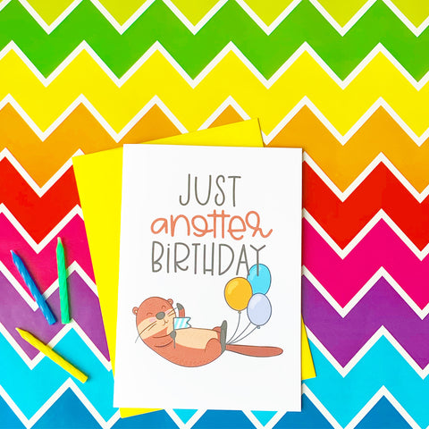 Just Anotter Birthday - Splendid Greetings - Funny Greeting Cards