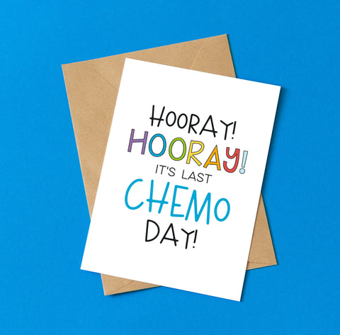 It's Last Chemo Day! - Splendid Greetings