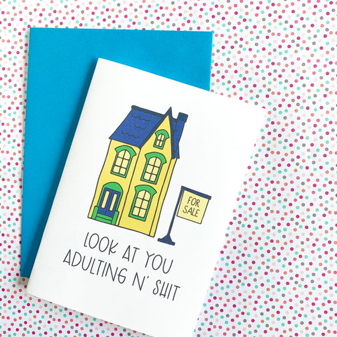 Adulting - Splendid Greetings - Funny Greeting Cards