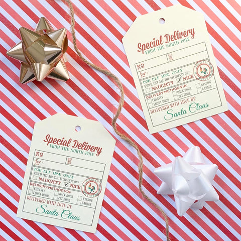 Special Delivery Tag Set - Splendid Greetings - Funny Greeting Cards