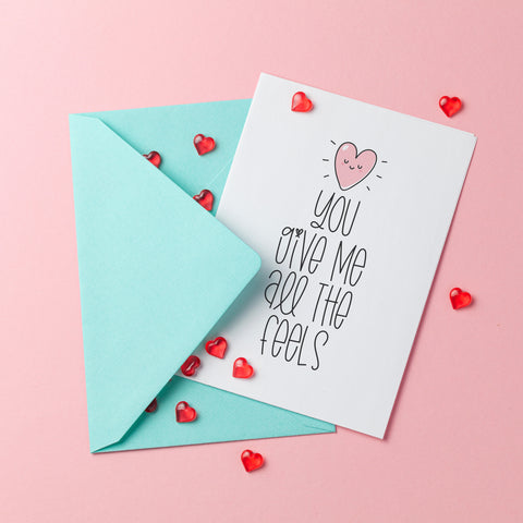 All the Feels - Splendid Greetings - Funny Greeting Cards