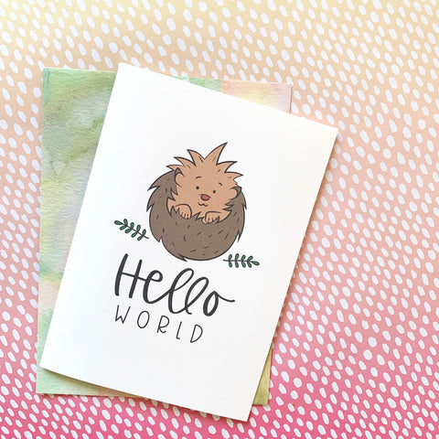 Hello World - Splendid Greetings - Funny Greeting Cards