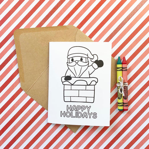 Happy Holidays DIY Mini Card