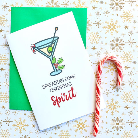 Spreading Some Christmas Spirit - Splendid Greetings - Funny Greeting Cards