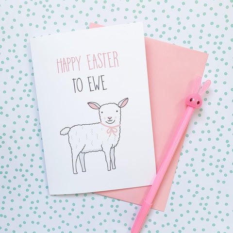 Happy Easter to Ewe - Splendid Greetings