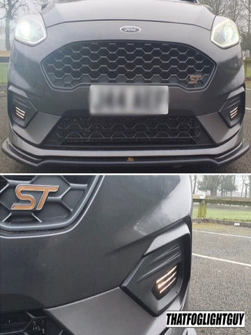 "Fiesta MK8 ST/ST Line ""Hunter"" Style Fog Light Armour"