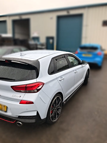 Hyundai I30N Window Track Vents