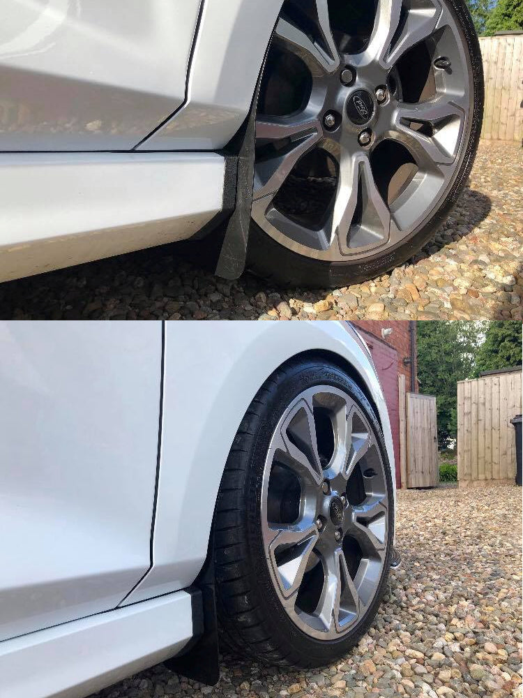 Ford Fiesta MK8 Arch Stone Guards (Fronts ONLY)