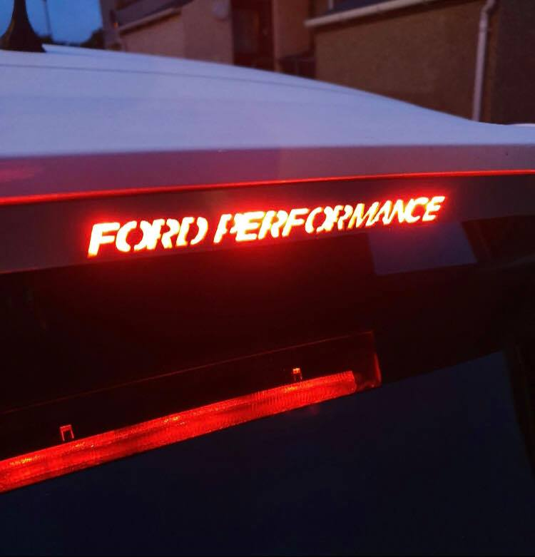 Ford Focus MK3 Brake Light Overlay