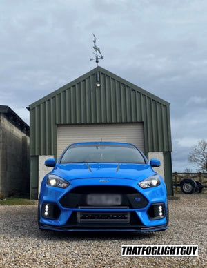 "Focus RS MK3 Fog ""Triple O"" Style Fog Light Armour"