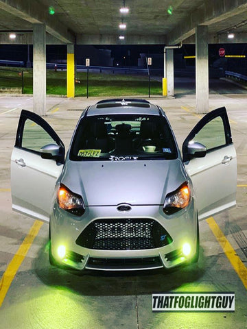 Focus ST MK3 Fog Light Armour