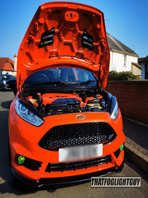 Fiesta ST180 Fog Light Armour
