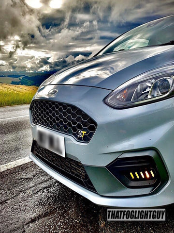 Image of Fiesta MK8 ST/ST Line Race Style Fog Light Armour
