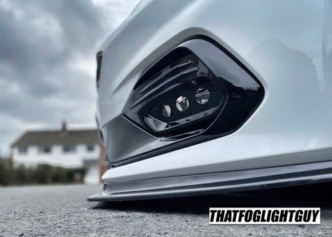 "Fiesta MK8 ST/ST-Line ""Triple O"" Style Fog Light Armour"