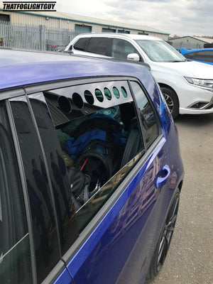 VW Golf MK7 Rear Window Vents (2012 to Present)