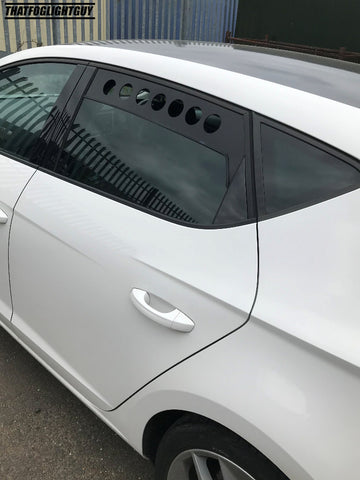 SEAT Leon MK3 Rear Window Vents (2013 to Present)