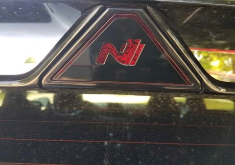 Veloster N Brake Light Overlay