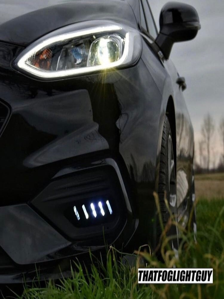 "Fiesta MK8 ST/ST Line ""Race"" Style Fog Light Armour"