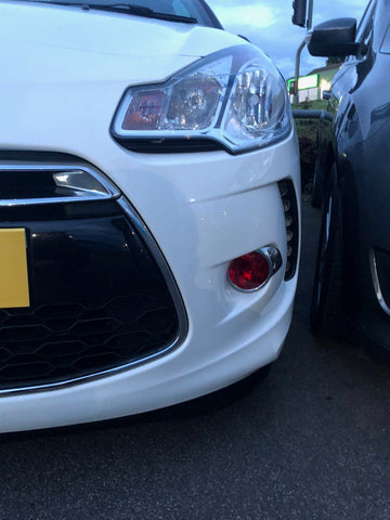 Citroen DS3 Fog Light Armour
