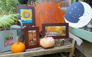 Pumpkins, Scarecrows & Sunflowers