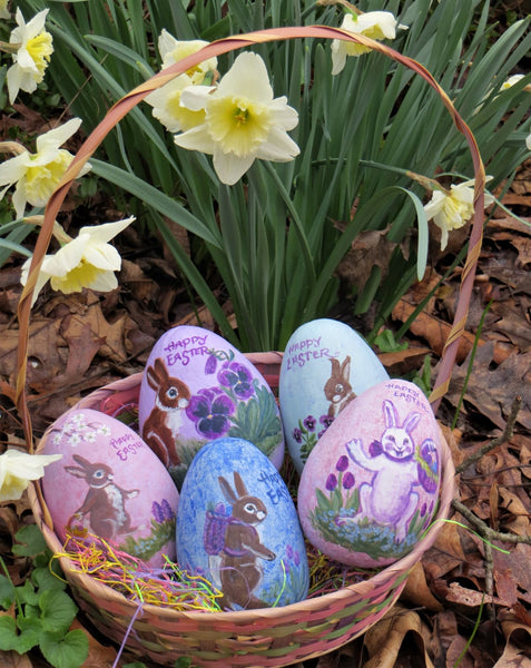 bobbi becker Hand painted Easter Eggs