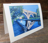 Manayunk Bridge Cards -available as pack of 4 or 1 with envelopes