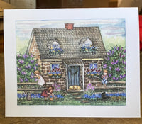 Stone Cottage - Card