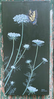 Queen Anne's Lace with a Visitor - Original Artwork - No Discounts may be applied