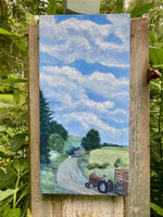 Oxford Road Farm Clouds - Original Artwork - No Discounts may be applied